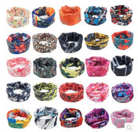 animal skull masks - EXPRESS SHIPPING Mix Model OK Top Fashion Skull Mask Neck Warmer Multifunctional Seamless Tube Headwear Buff Bandanas