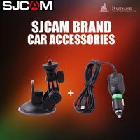Wholesale SJCAM Brand Accessories SJCAM Car Accessories Car Kits Car Holder Car Charger Suction Cup For SJ4000 SJ5000 order lt no track