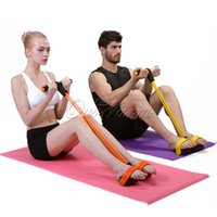 Wholesale Training Pull Rope Fitness Resistance Bands Exercises Hand Wrist Exercise Dynamic Pedal Body Building and Fitness Equipment