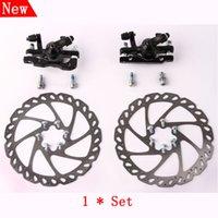 brake pads - Hot sale New brand MTB Mountain bike bicycle kit disk brake pads set steel disc brakes freio a disco velo freno bicicleta BD