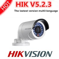 ip camera - mutil languange Hikvision V5 version camera waterproof security network ip bullet camera DS CD2032 I MP ip camera mini support POE