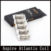 Les bobines de atlantis Prix-Aspirateur Atlantis Bobine Atlantis 2 Bobines 0.3ohm 0.5ohm Sub Ohm pour Bobines Atlantis V2 Nuatilus