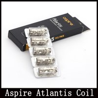 Precio de Bobinas atlantis v2-Aspire Atlantis Bobina Atlantis 2 bobinas 0.3ohm 0.5ohm bobinas de reemplazo de ohmio para Atlantis V2 VS Nuatilus bobinas