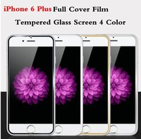 packing film - For iPhone Plus Screen Protector Golden pelicula For iPhone plus Tempered Glass mm H Treated Glass Screen Film Protector Retail pack