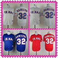 texas rangers - 2016 New CoolBase josh hamilton baseball texas jersey rangers MLB baseball mens throwback shorts authentic stitched blue shirts