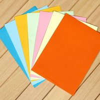 colored full housing - Rainbow colored envelope full shipping solid Western standard size envelope B6 postcard housing color options