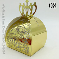 Cheap Reflective Gold Wedding Party Favors Candy Boxes Favor Gifts For Wedding Guests Uk Wedding Favours Laser Cut Cheap Wedding Favour Boxes