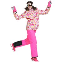 ski suit women - Phibee Women Ski Suit Ski Jacket Ski Pants Snow Clothing Waterproof Thermal Snowboard Jacket degree
