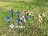 solar Hummingbirds - New Solar hummingbirds Solar butterflies garden toys students enlightenment educational toys solar and battery combo GIFT
