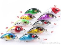 Wholesale New design laser Fales baits cm g Colors Fishing Baits trout fishing lure sets fishing lures bait tackle