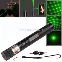 Wholesale car Adjustable Focus Green Laser Pointer Pen mw nm Burning Match Visible Beam mm mm mm Laser Pen