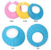 Wholesale Hot Sale New Shampoo Shield Hat Baby Child Kid Shampoo Bath Shower Wash Hair Shield Hat Cap