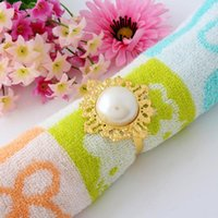 Cheap 12 pcs Napkin Rings Serviette Holder Wedding Party Banquet Dinner Decor Favor Napkin Ring Table Decoration free shipping