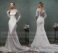 Cheap Trumpet/Mermaid Wedding gowns Best Reference Images V-Neck weeding dress