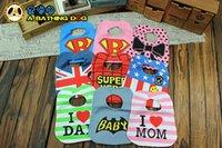 baby boy cloth batman - 2015 new baby girls and boys cartoon Superhero Avengers superman batman spiderman i love dad mom waterproof bibs burp cloths style CY2960