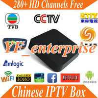 Wholesale 1 year Quad Core M8 Android TV box Chinese China HongKong Taiwan HD Channel IPTV Box account APK