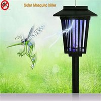 bug repellent - solar mosquito repellent LED Mosquito Repeller killing Fly Bug Insect Trap Night Lamp Killer Zapper electronic pest repeller