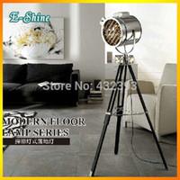 spotlight floor lamp - Modern Nautical Spot Studio Tripod Spotlight Photography Floor Lamps light searchlight Stand lamp Home Decoration Light Fixture