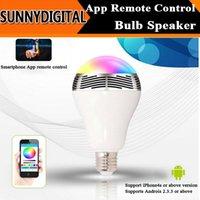 android universal remote control app - Bluetooth Smart Speaker Light Bulb Intelligent Music Player LED Lamp APP Remote Control for Android IOS Phones