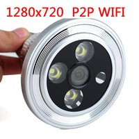 Wholesale Mini light bulb lamp P2P P Wifi wireless spy hidden bulb dvr Led bulb video camera with motion detection camcorder for home security