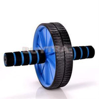 Wholesale 2014 New Brand Updated Version Abdominal Wheel Ab Roller With Mat Exercise Equipment