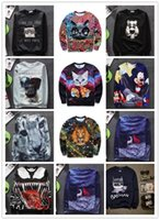 avatar long sleeve - 2016 New3D Graphic Avatar customs Jumpers Cute Animal Brand Jackets Creative image Designs Hoodies sweatshirts Factory sales man s coat