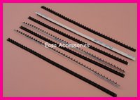 bargain gifts - 20pcs mm cm Adhesive Black Rubber Two Rows Headband Teeth Lined Headbands Self stick Rubber Teeth Bargain for Bulk