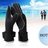 Wholesale 1 Pair Slinx Neoprene Diving Gloves mm Neoprene Gloves Diving Equipment Non slip Swimming Diving Gloves Water Sports Equipment