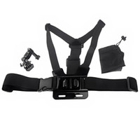 Wholesale Elastic Adjustable Chest Harness Mount Way Pivot Arm bag for GoPro Hero