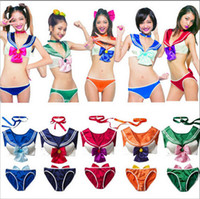 sexy clothing wholesale - Anime Cosplay Sailor Moon Clothing Anime Clothes Sexy Bikini Underwear Role Playing Uniform Temptation