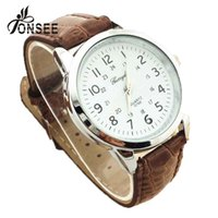Wholesale Watch Men Brand Fashion Leather Dress Business Casual Relogio Masculino Wristwatch