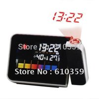 Cheap Multi-Function Digital Project Projection Alarm Clock with Weather Station Nice Gift Hot sale