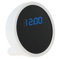 None 1280*720 support max 32GB micro SD card New HD 1280 x 720 Spy Alarm Clock WIFI IP Camera Real Time View Digital Video Cameras Wireless Hidden Monitor clock Cam