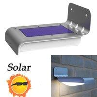 outdoor led security light - New Arrival Outdoor LED Solar Light Waterproof Power Motion Sensor Garden Security Lamp White Black