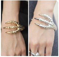 alternative factory - SL053 Latest Fashion Alternative Gothic Punk Retro Texture Talons Bracelet Jewelry Factory Direct