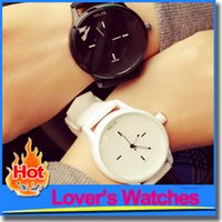 big glasses trend - Personalized Watches Zipper Europe Trend Big Dial Silicone Strap Lover s Watches Brief Quartz Wristwatch For Boys Girls