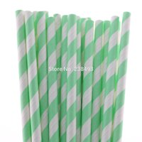 aqua paper straws - Drinking Straw Paper Straws Mixed Colors Party Decorative Aqua Paper Straws Colors for your choose