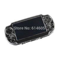 Protector transparente de cristal duro llevar la piel de la cubierta del protector para Sony PS Vita PSV cover oil