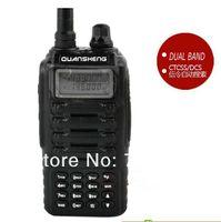 best radio stations - DHL Freeshipping best quansheng tg uv2 uhf vhf dual band radio tg uv2 ham way radio station portable walkie talkie