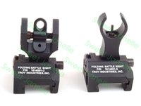 Wholesale Metal Troy Front and Rear Folding Battle sights COMBO