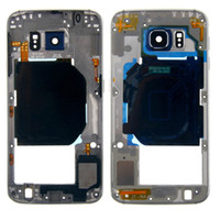 Wholesale Original Middle Plate Housing Cover Frame Bezel Chassis For Samsung Galaxy S6 G920F G9200 G9250
