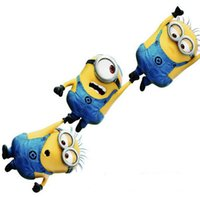 Wholesale minion sticker cartoon minions removable decal pvc logo car stickers decor decal Despicable Me Minions Cartoon Minions decorations D1767