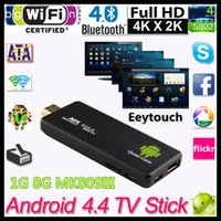 Quad Core MK808 TV box android - MK809III Android TV Box Quad Core RK3188T Ghz G G Mini TV Sticks Media Player Miracast Bluetooth XBMC MK808 MK809 III P