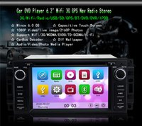 Wholesale KGL M Car DVD Player quot Wifi G GPS Nav Radio Bluetooth Stereo for Jeep Wrangler Commander Compass Free GB Card SCYF0694