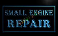 bars engine repair - LB134 TM OPEN Small Engine Repair Display Neon Light Sign Advertising led panel jpg