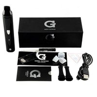 Wholesale Snoop Dogg G Pro mAh G Pro Herbal Vaporizer Pen Herbal Vapor Kit Black Color Chinese Supplier Fast dhl