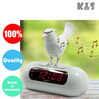 Cheap bird LED electronic clock Best alarm clock