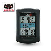 Wholesale CATEYE Cycling Bike STEALTH Wireless GPS Computer Speedometer Sets Black Speed HR Cadence BIcycle Accessories