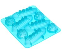 Wholesale Boat Iceberg Shape Silicone Ice Cube Mold Tray memory of Titanic party accessories
