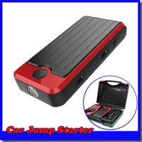 auto battery storage - 13800mAh multi function auto emergency start SOS lighting V Car Jump Starter power bank for motorcycle storage battery